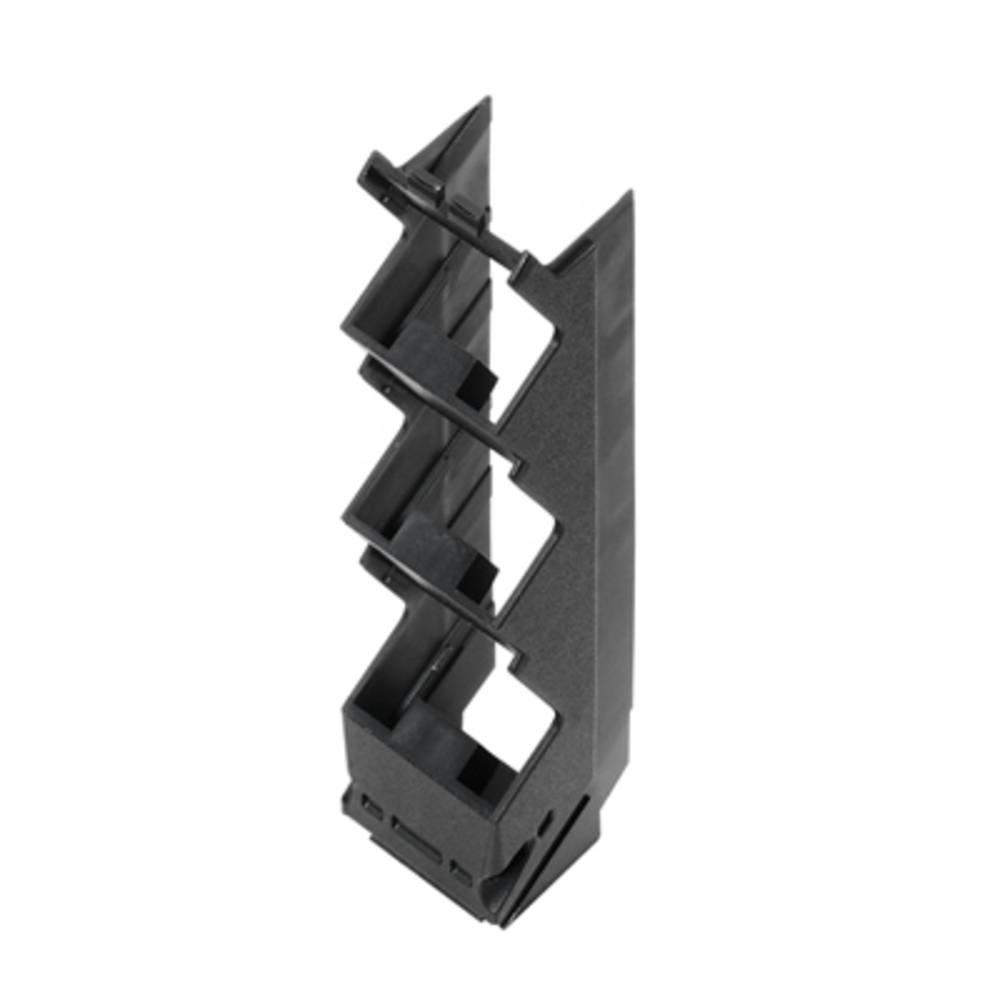 DIN-skinnekabinet sidedel Weidmüller CH20M22 S PPP BK 105.49 x 22.5 x 22.83 10 stk
