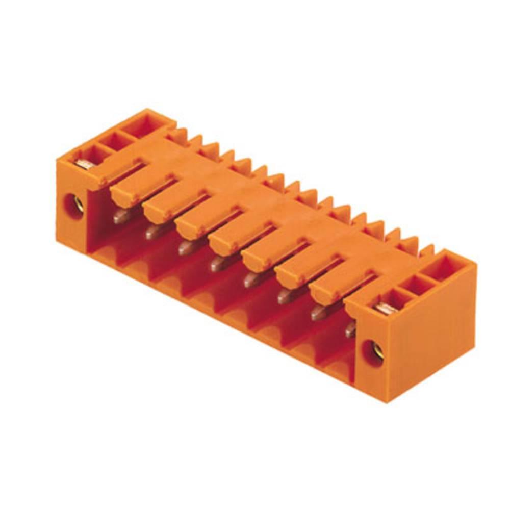 Vtični konektor za tiskana vezja črne barve Weidmüller 1615540000 vsebuje: 100 kosov