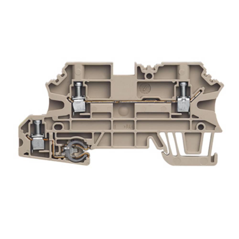 Beskyttende leder klemrække Weidmüller WMF 2.5 PE 1143060000 50 stk