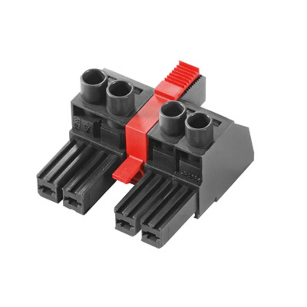 Tilslutningskabinet-kabel BV/SV Samlet antal poler 3 Weidmüller 1156730000 Rastermål: 7.62 mm 40 stk