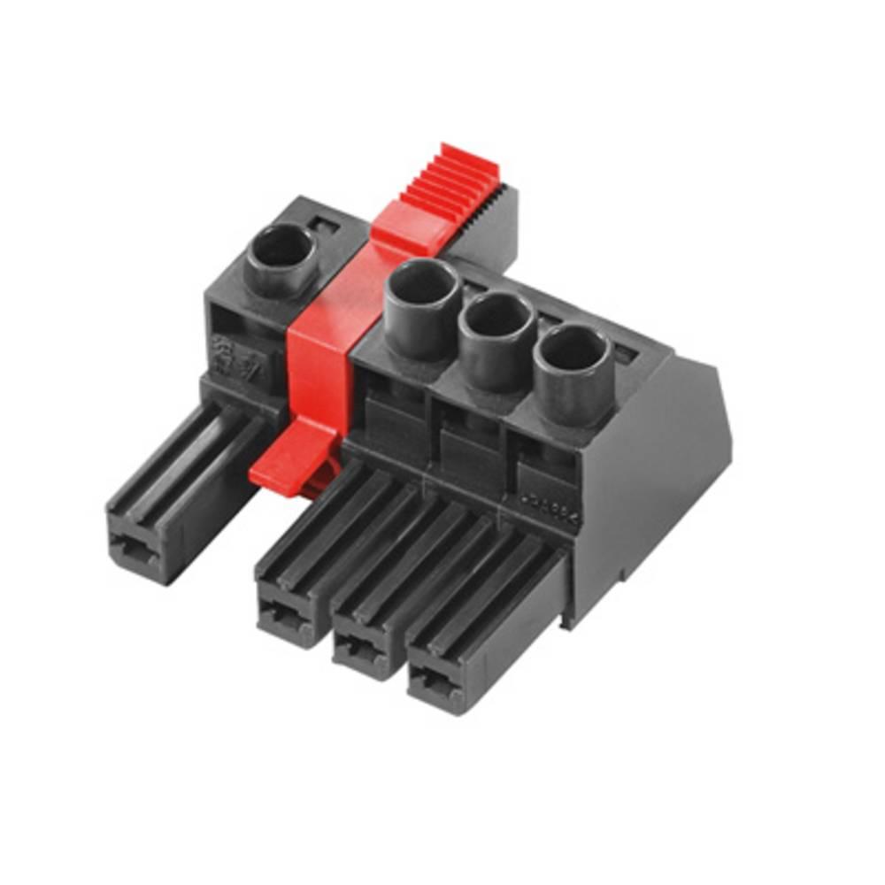 Tilslutningskabinet-kabel BV/SV Samlet antal poler 4 Weidmüller 1156750000 Rastermål: 7.62 mm 32 stk