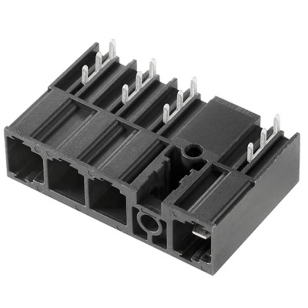 Vtični konektor za tiskana vezja črne barve Weidmüller 1157350000 vsebuje: 36 kosov
