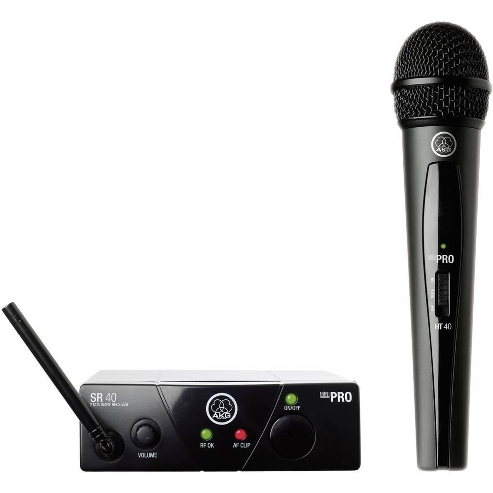 Brezžični mikrofon in oddajnikAKG WMS 40 Mini ISM 1, komplet