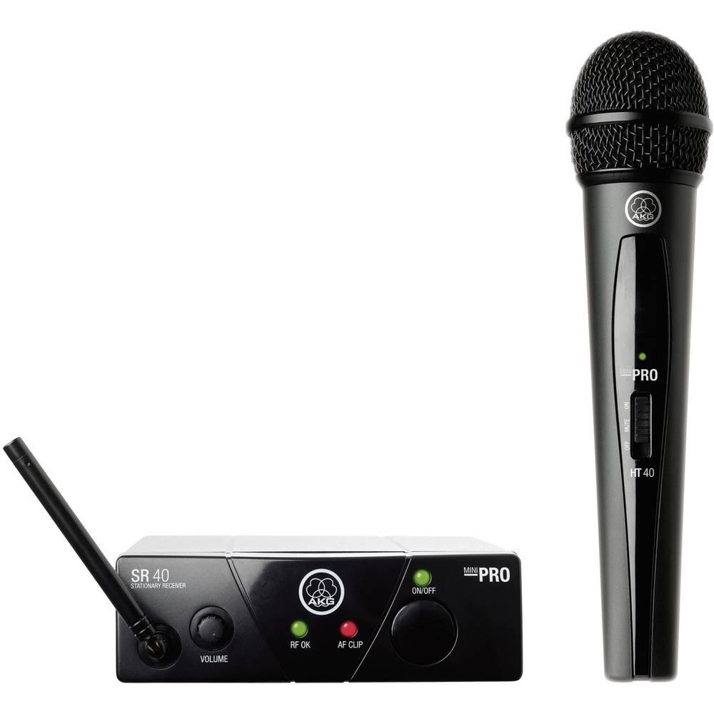 Brezžični mikrofon in oddajnikAKG WMS 40 Mini ISM 3, komplet