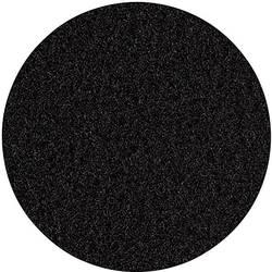 Flis iz velurja - črn 12S14
