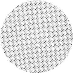 Posebno raztegljivo blago za zvočnike, bele barve 12S58-1