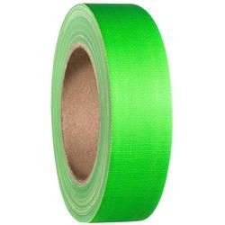 Tekstiltape Neongrøn (L x B) 25 m x 38 mm Adam Hall 58065NGRN 1 stk