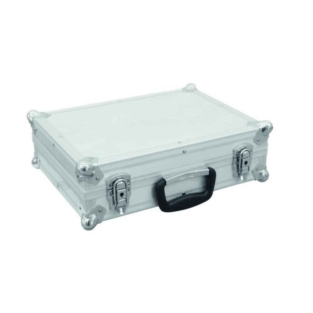 Kovček za mikrofonov Road 7 mikrofonov srebrn