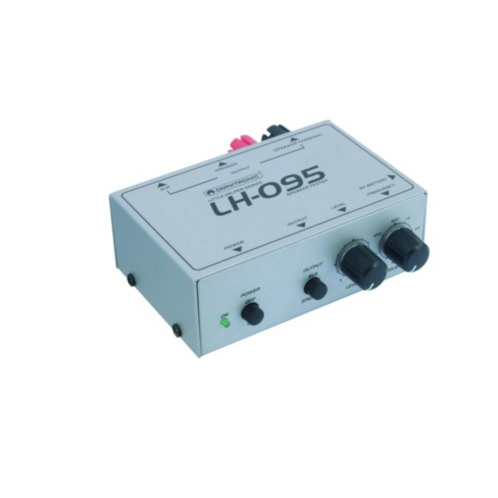 Tester zvočnikov Omnitronic LH-095