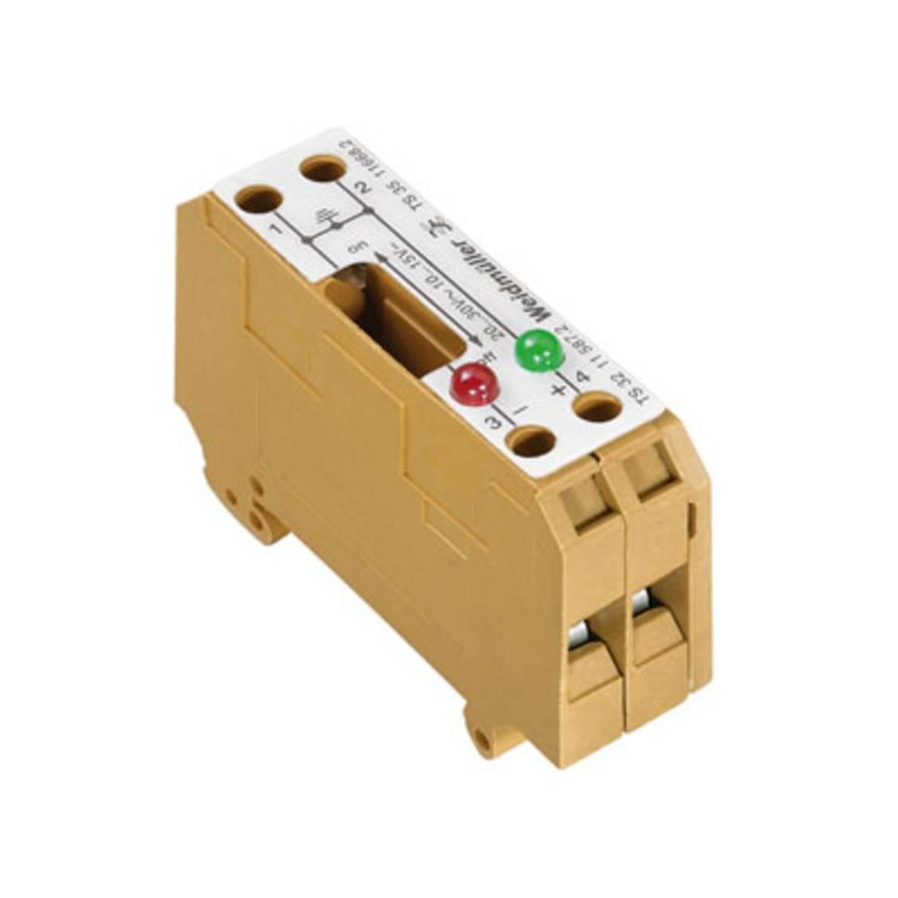 Afbryd og modulær afbryde terminal Weidmüller SAKT E/35 2LD 30VAC 1166820000 5 stk