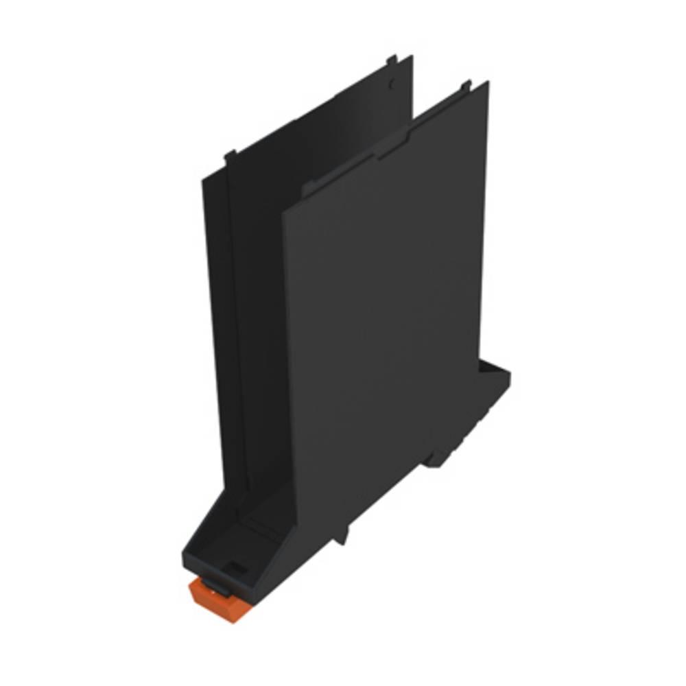 DIN-skinne-hus basiselement Weidmüller CH20M22 B FE BK/OR 107.4 x 22.5 x 109.3 10 stk