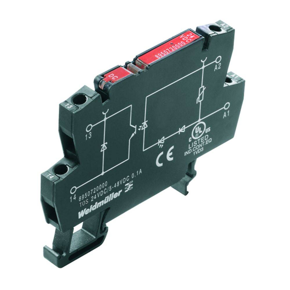 Solid-State releji Weidmüller TOS 120VAC/48VDC 0.5A RC 1180290000
