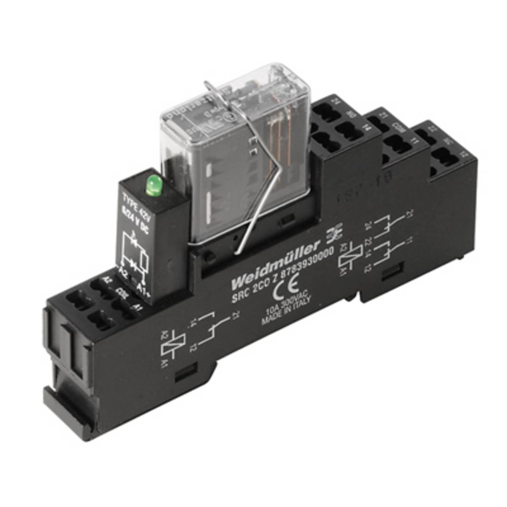 Relejska spojka Weidmüller RCIKITZ 24VDC 2CO LD/FG 1218390000