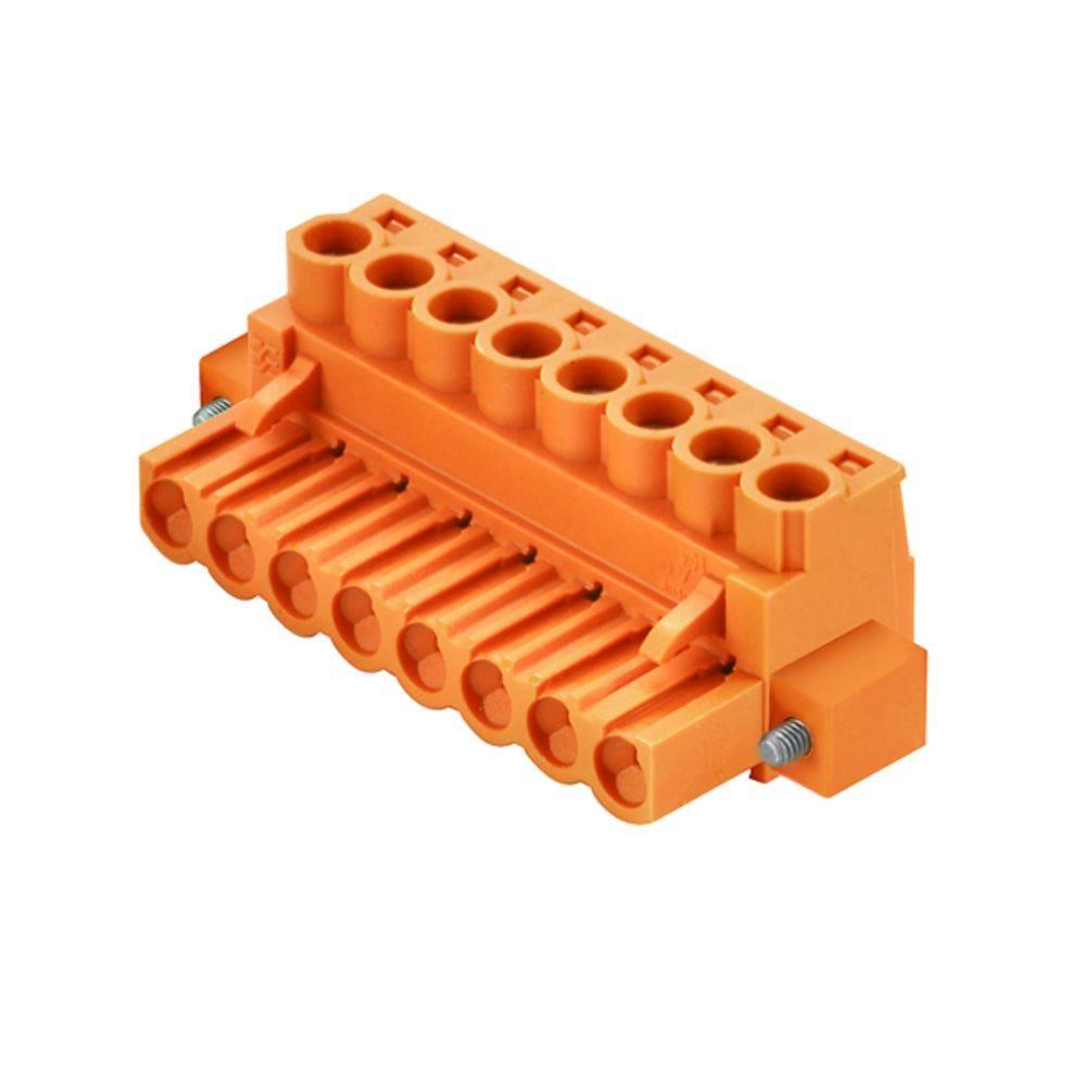 Tilslutningskabinet-kabel BL/SL (value.1360602) Samlet antal poler 2 Weidmüller 1223790000 90 stk