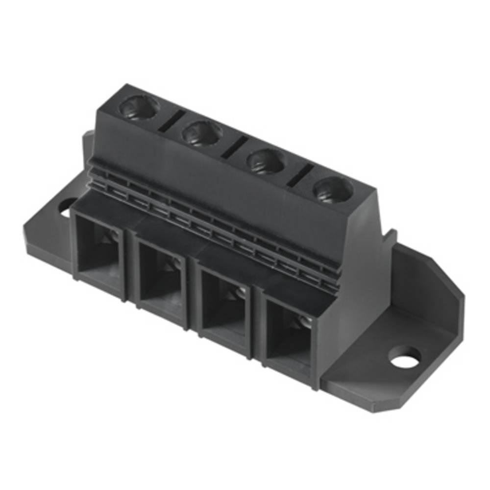Skrueklemmeblok Weidmüller LXB 15.00/02/90 4.5SN BK BX 25.00 mm² Poltal 2 Sort 20 stk
