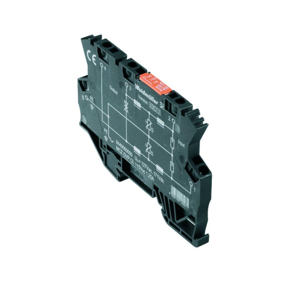 Prenapetostna zaščita MCZ OVP TAZ 12V AC/DC kataloška številka 1226630000 Weidmüller vsebuje: 10 kosov