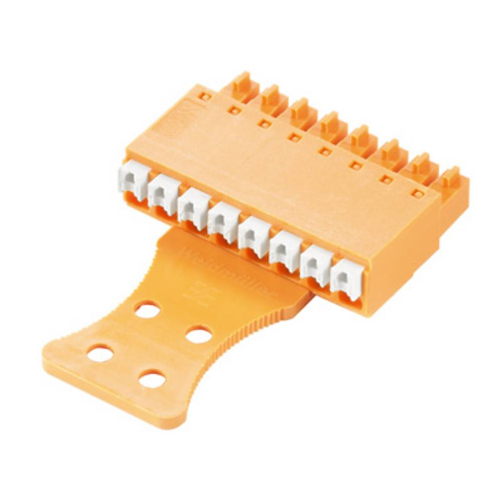Tilslutningskabinet-kabel BC/SC Samlet antal poler 7 Weidmüller 1231710000 Rastermål: 3.81 mm 50 stk