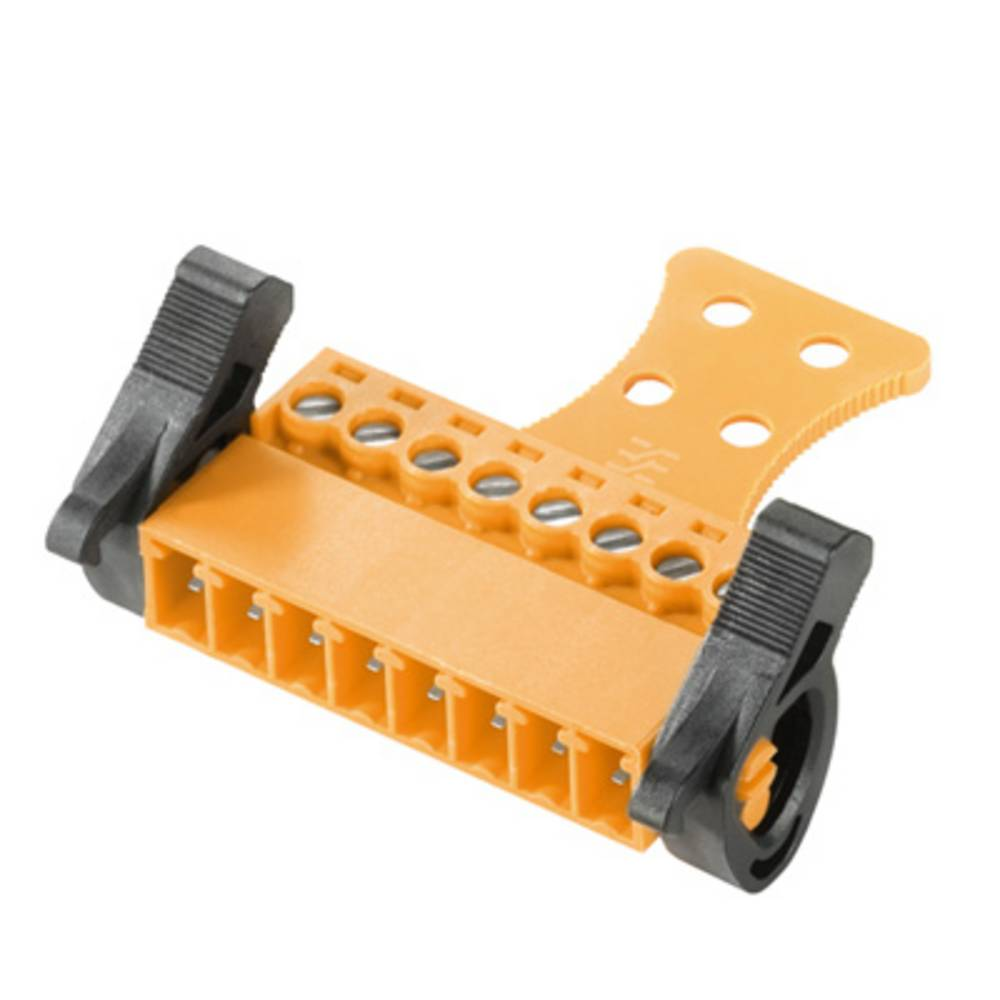 Stiftkabinet-kabel BC/SC (value.1360601) Samlet antal poler 10 Weidmüller 1237410000 Rastermål: 3.81 mm 50 stk