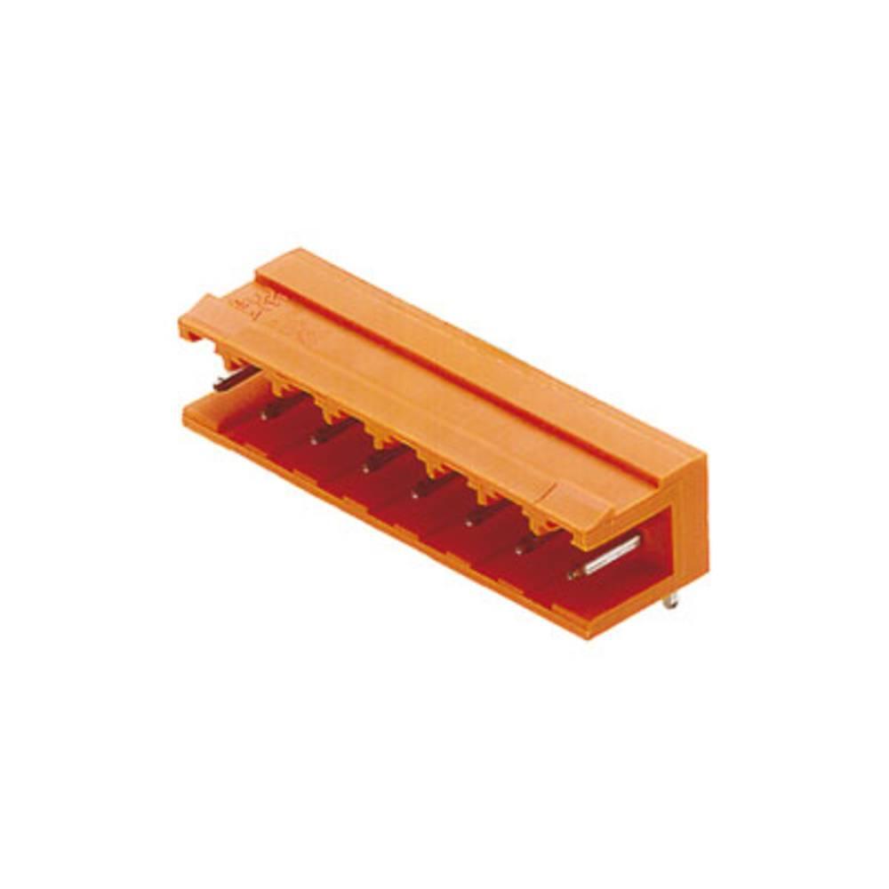 Stiftkabinet-printplade BLA/SLA 5.08 (value.1360542) Samlet antal poler 8 Weidmüller 1238660000 Rastermål: 5.08 mm 50 stk