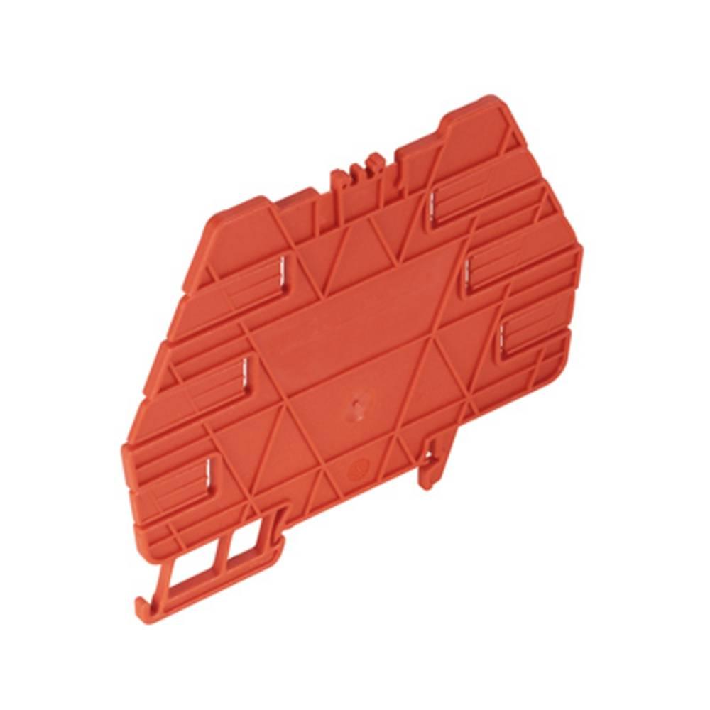 Vmesna plošča oranžne barve, 10 kosov Weidmüller TW TXS/TXZ R3.2