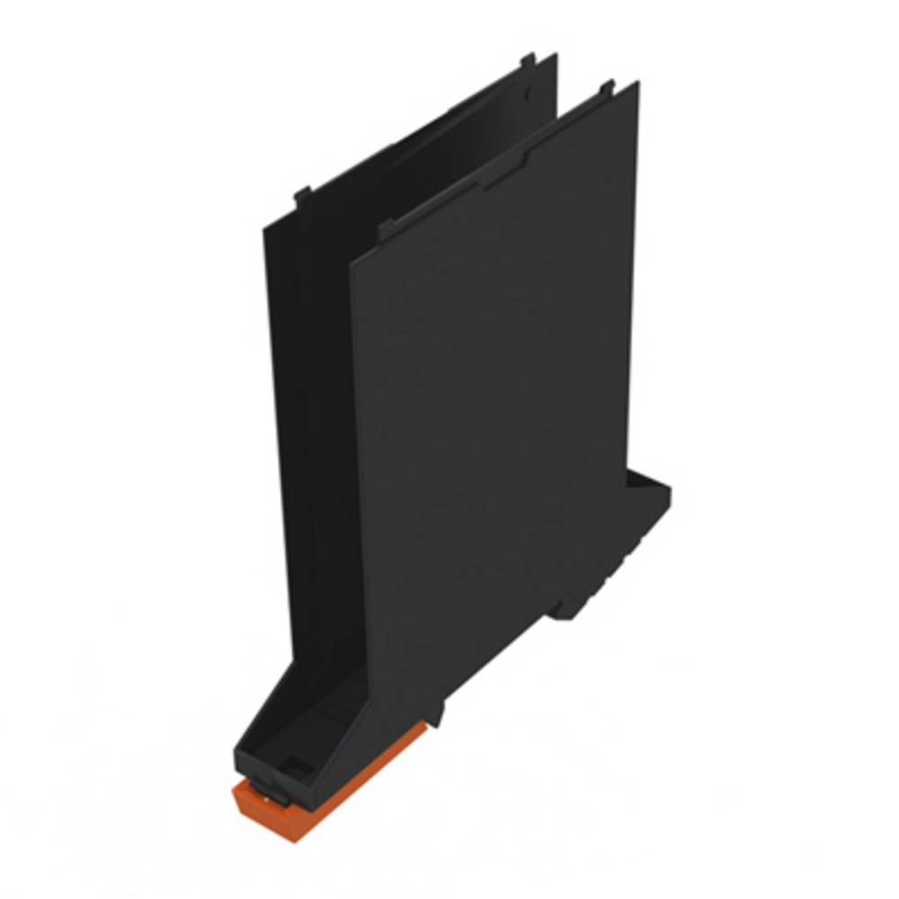 DIN-skinne-hus basiselement Weidmüller CH20M17 B BK/OR 107.4 x 17.5 x 109.3 12 stk