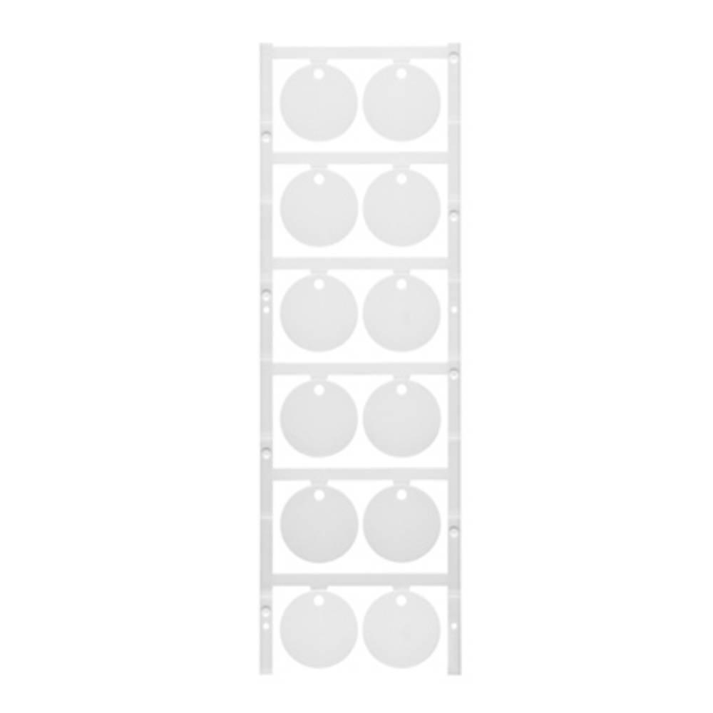 Makering af apparater Weidmüller CC DIA 30/3.5 MC NE WS 1266120000 60 stk Antal markører 60 Hvid