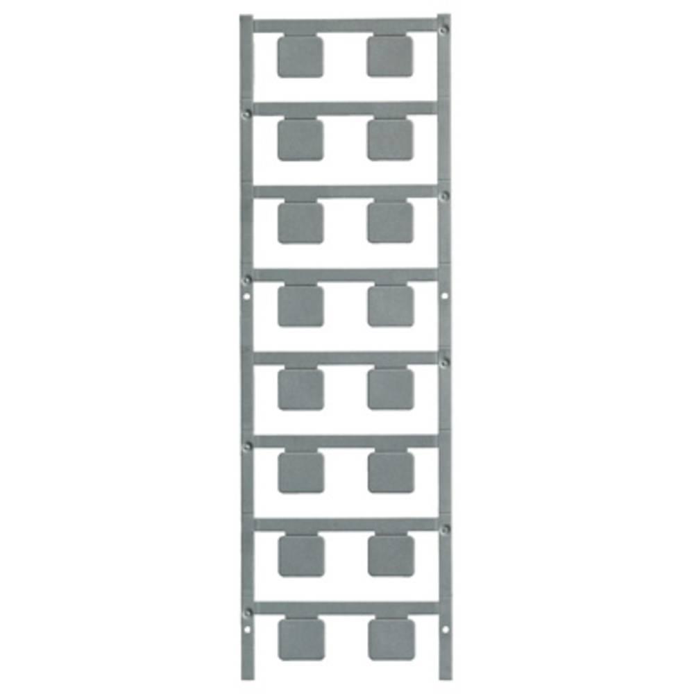 Označevalnik naprav, pritrditev s pripenjanjem, površina: 17 x 15 mm, primerno za naprave in stikalne naprave, univerzalna upora