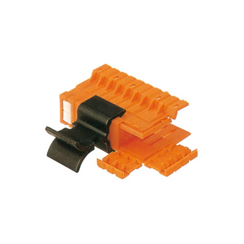 Konektor tiskanega vezja BLA AH 19 GR.2 OR Weidmüller vsebuje: 10 kosov