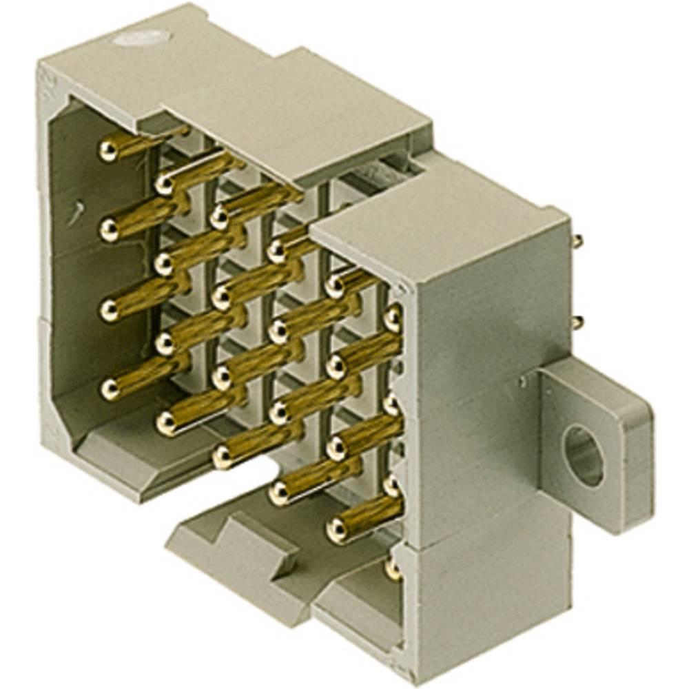 Stiftkabinet-printplade RSV (value.1360531) Samlet antal poler 12 Weidmüller 1443800000 Rastermål: 5 mm 25 stk