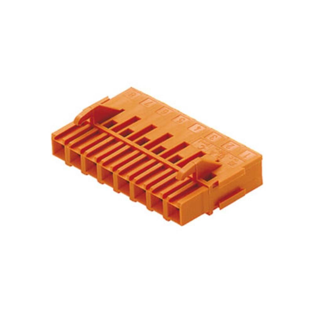 Tilslutningskabinet-kabel BLA/SLA 5.08 (value.1360542) Samlet antal poler 10 Weidmüller 1479260000 Rastermål: 5.08 mm 50 stk
