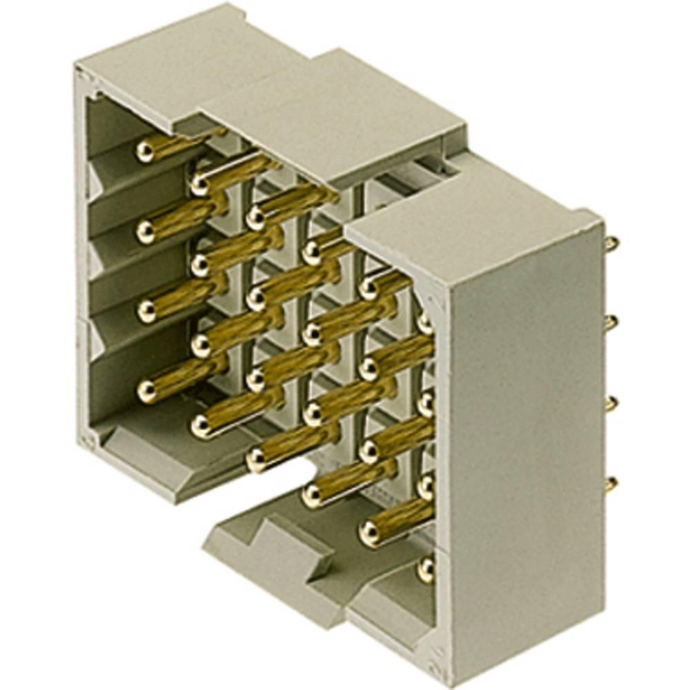 Stiftkabinet-printplade RSV (value.1360531) Samlet antal poler 18 Weidmüller 1444400000 Rastermål: 5 mm 25 stk