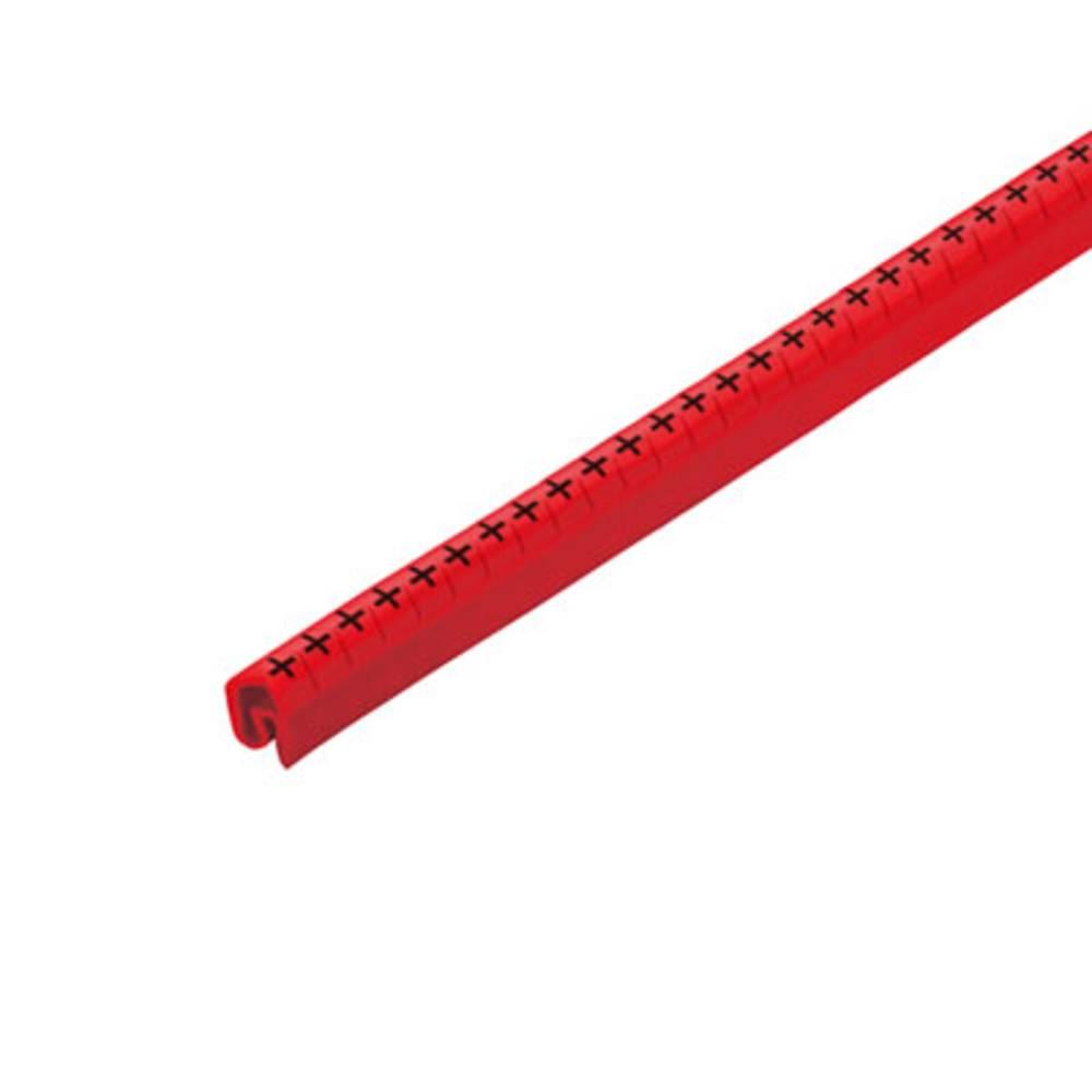 Mærkningsring Weidmüller CLI C 2-4 RT/SW + CD 1568261737 Rød 250 stk