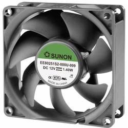 Aksialni ventilator 12 V/DC 62.86 m/h (D x Š x V) 80 x 80 x 25 mm Sunon EE80251S2-0000-999