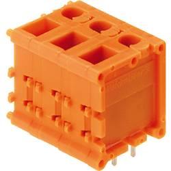 Skrueklemmeblok Weidmüller TOP1.5GS7/180 7 2STI OR 2.50 mm² Poltal 7 Orange 25 stk