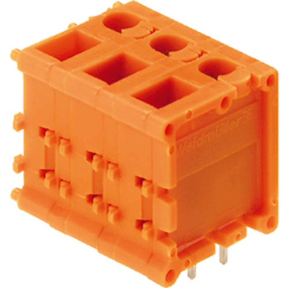 Skrueklemmeblok Weidmüller TOP1.5GS9/180 7 2STI OR 2.50 mm² Poltal 9 Orange 20 stk