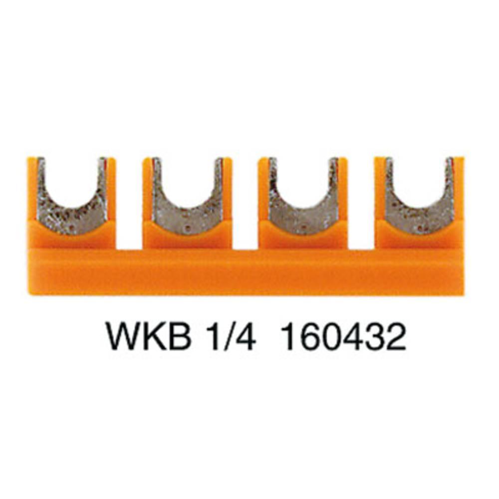 Cross-link skydere WKB 1/4 1604320000 Weidmüller 50 stk