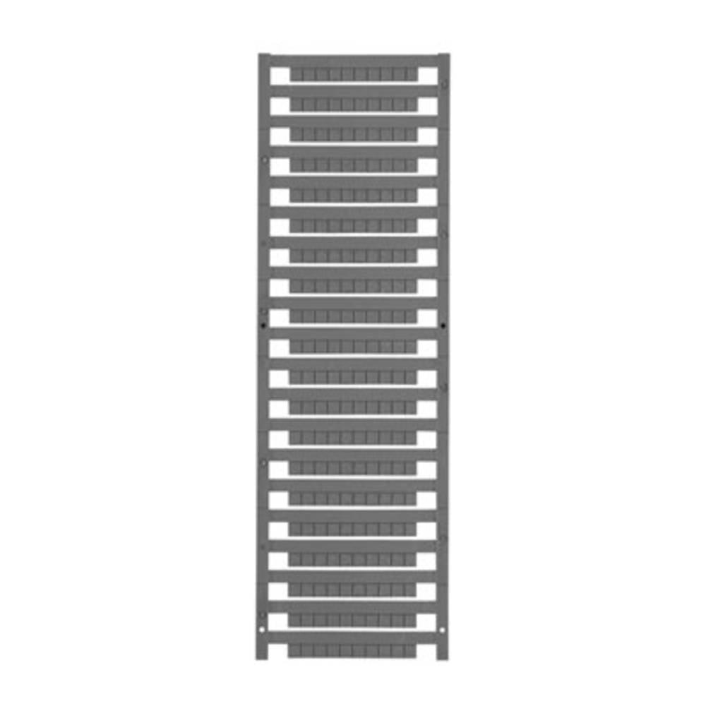 Enhed markører MultiCard DEK 5/5 MC-10 NEUT. GR 1609801691 Grå Weidmüller 1000 stk