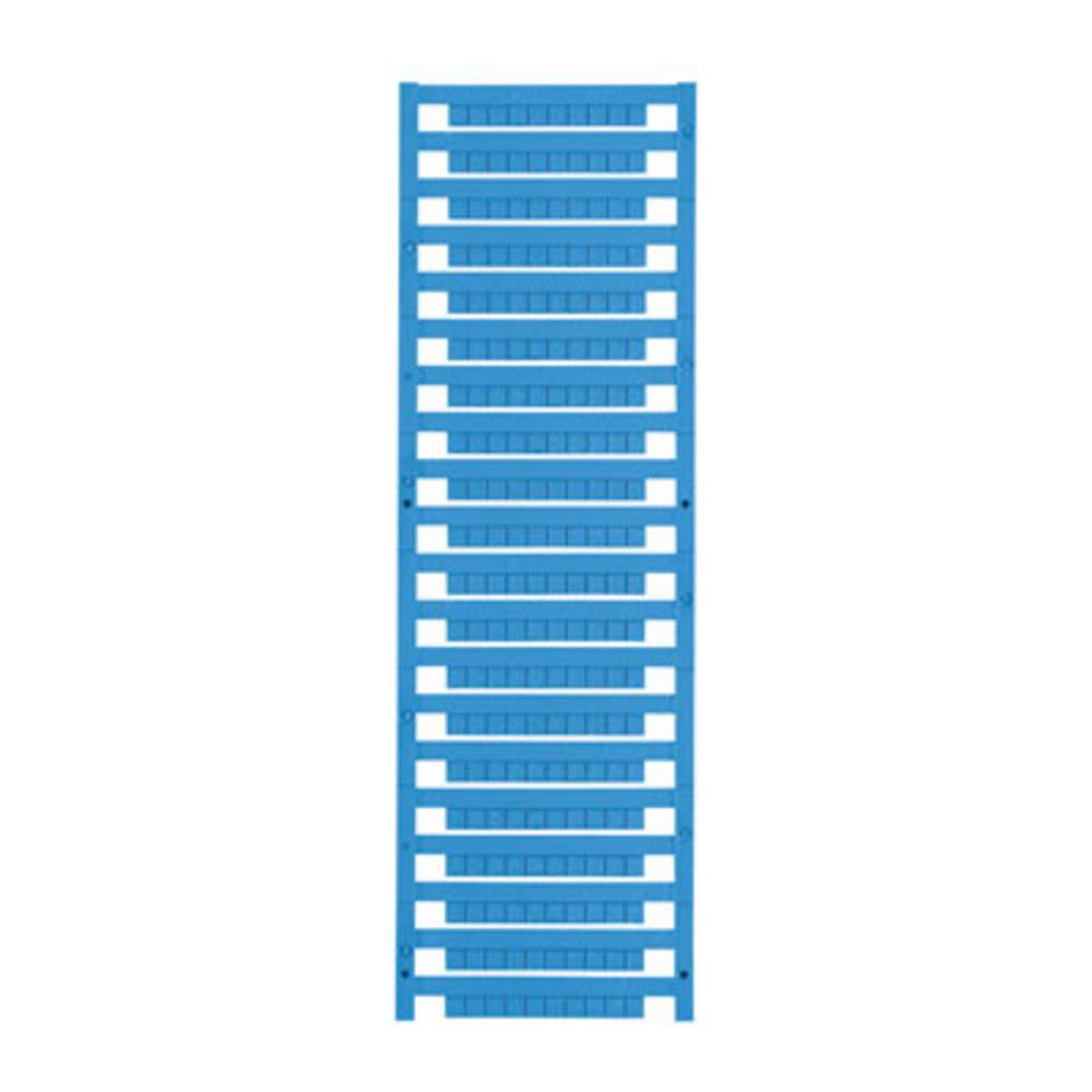 Enhed markører MultiCard DEK 5/5 MC-10 NEUT. BL 1609801693 Atolblå Weidmüller 1000 stk