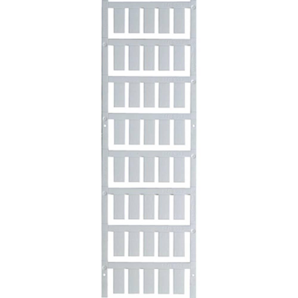 Makering af apparater Weidmüller ESG 9/20 MC NEUTRAL O. FUSS 1770500000 200 stk Antal markører 200 Hvid