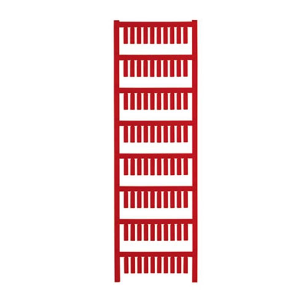 Makering af apparater Weidmüller TM-I 15 NEUTRAL RT 1609981686 400 stk Antal markører 400 Rød