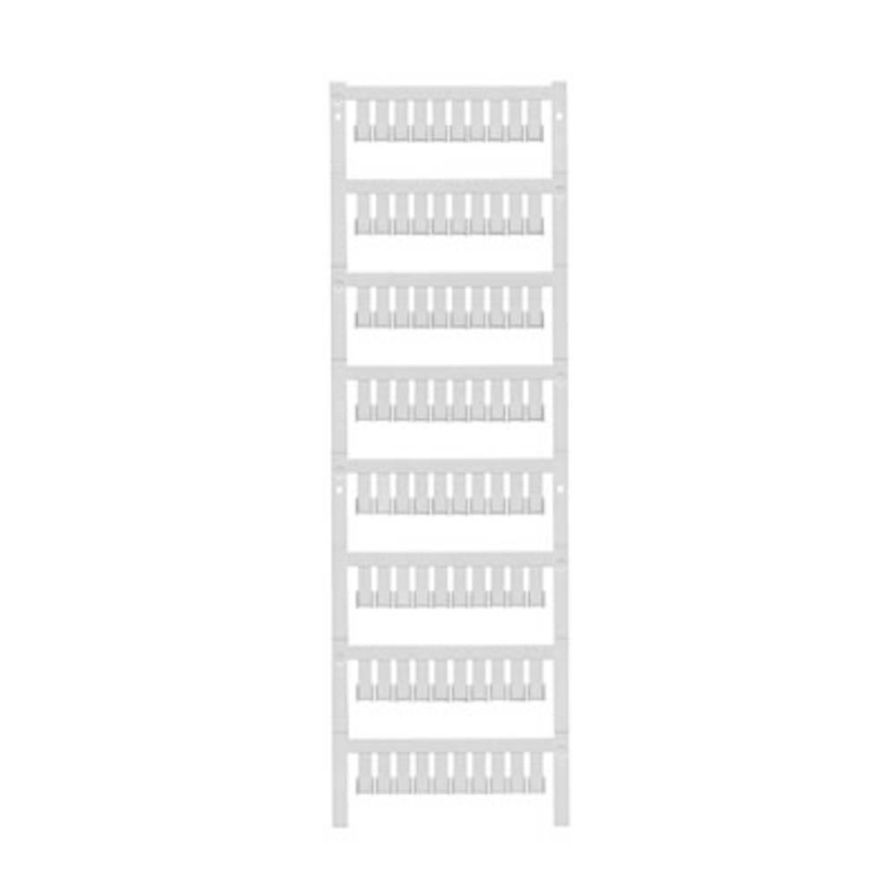 Enhed markører MultiCard ZS 12/6 MC NEUTRAL 1610020000 Hvid Weidmüller 400 stk