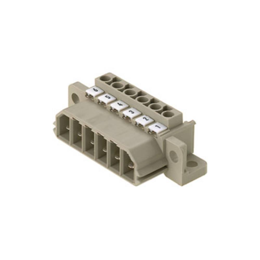 Vtični konektor za tiskana vezja, mere: 7.00 mm število polov:: 5 Weidmüller 1612040000 vsebuje: 10 kosov