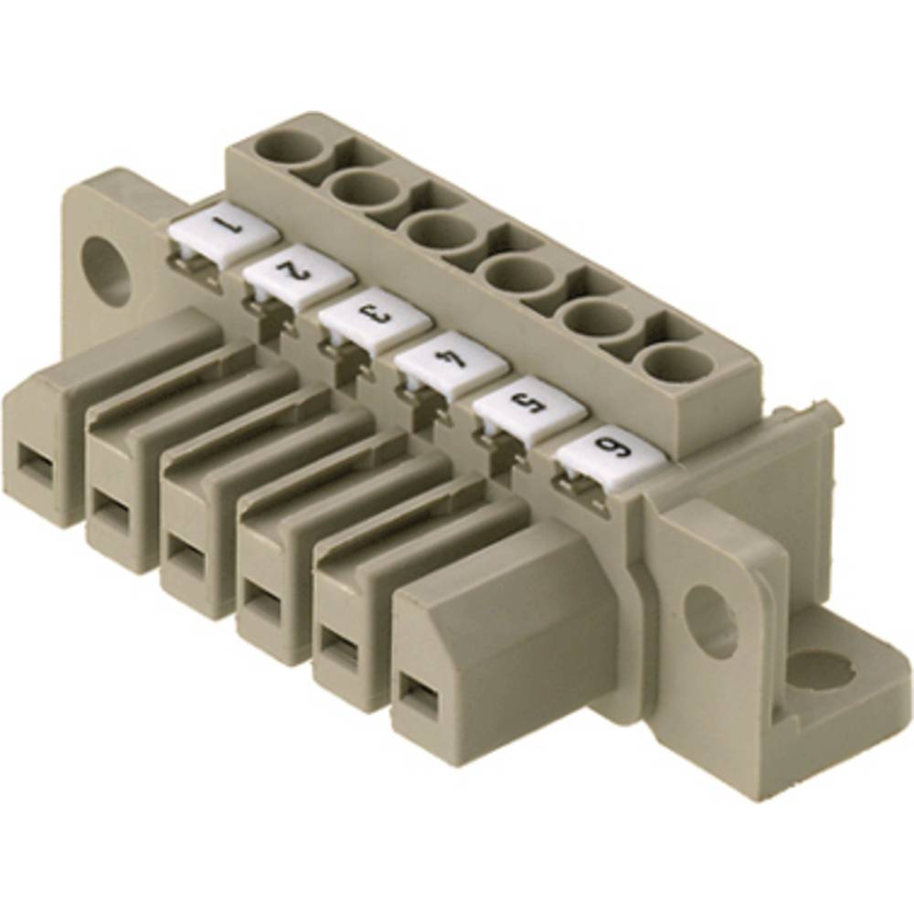 Vtični konektor za tiskana vezja, mere: 7.00 mm število polov:: 9 Weidmüller 1612170000 vsebuje: 10 kosov