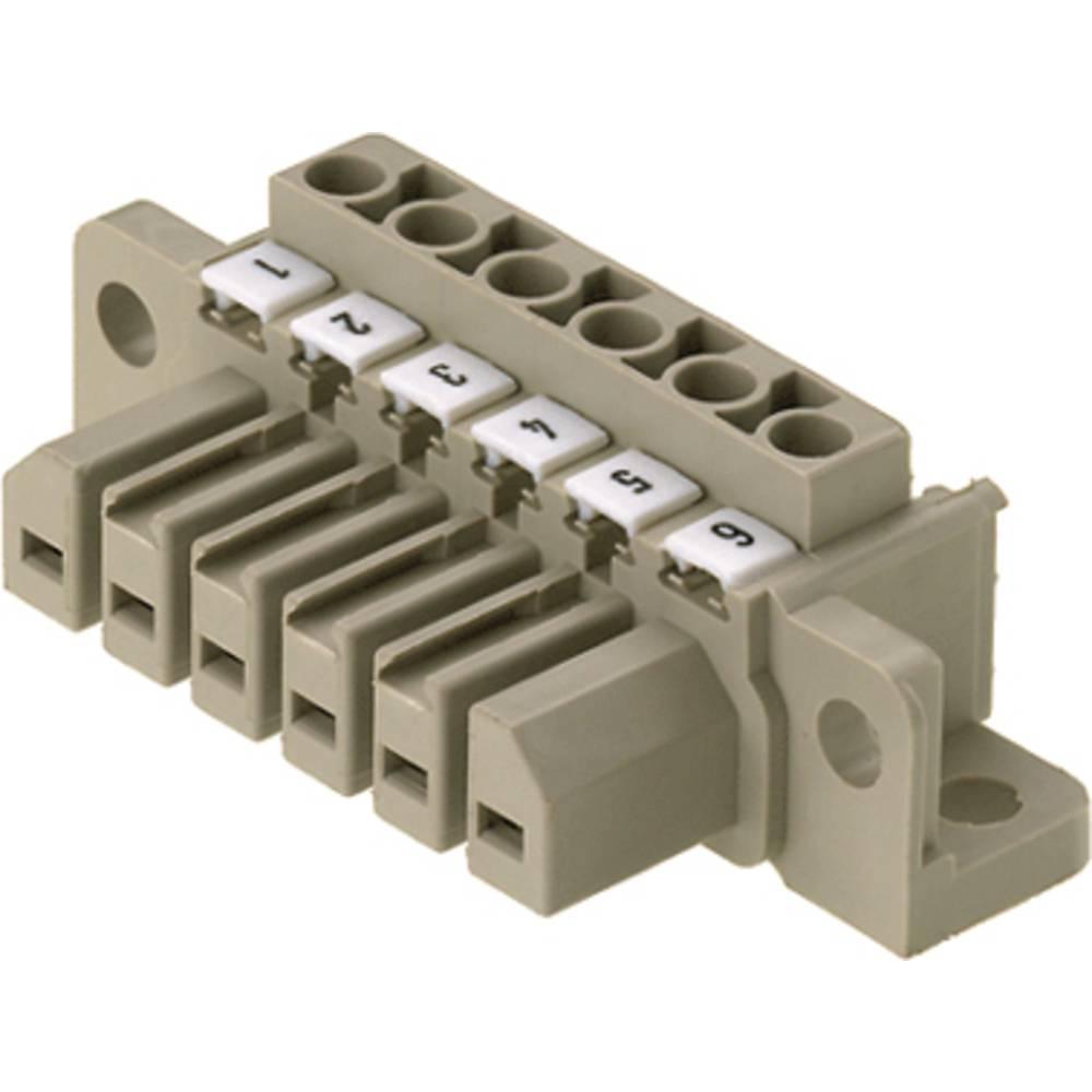 Vtični konektor za tiskana vezja, mere: 7.00 mm število polov:: 10 Weidmüller 1612200000 vsebuje: 10 kosov