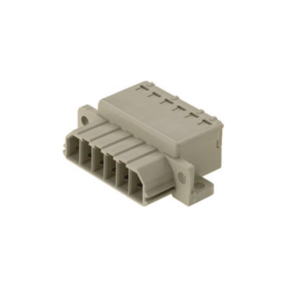 Vtični konektor za tiskana vezja, mere: 7.00 mm število polov:: 8 Weidmüller 1612400000 vsebuje: 10 kosov
