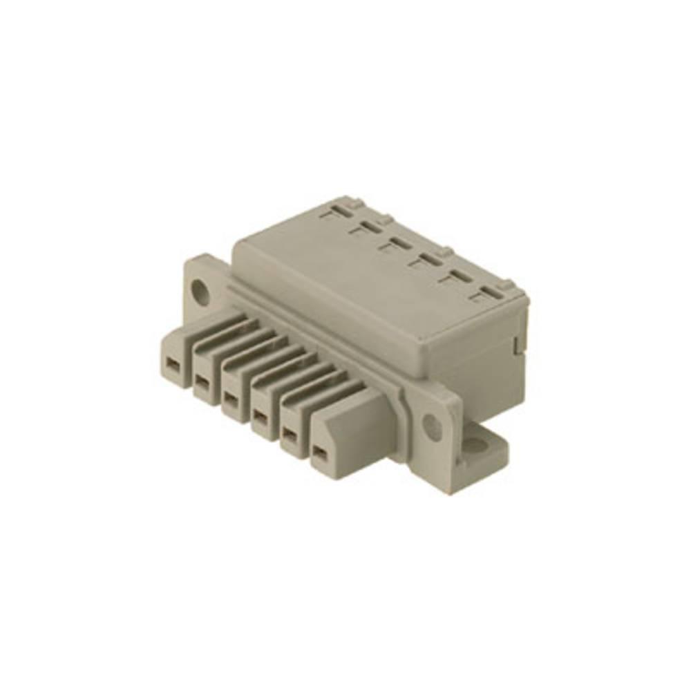 Vtični konektor za tiskana vezja, mere: 7.00 mm število polov:: 8 Weidmüller 1612410000 vsebuje: 10 kosov