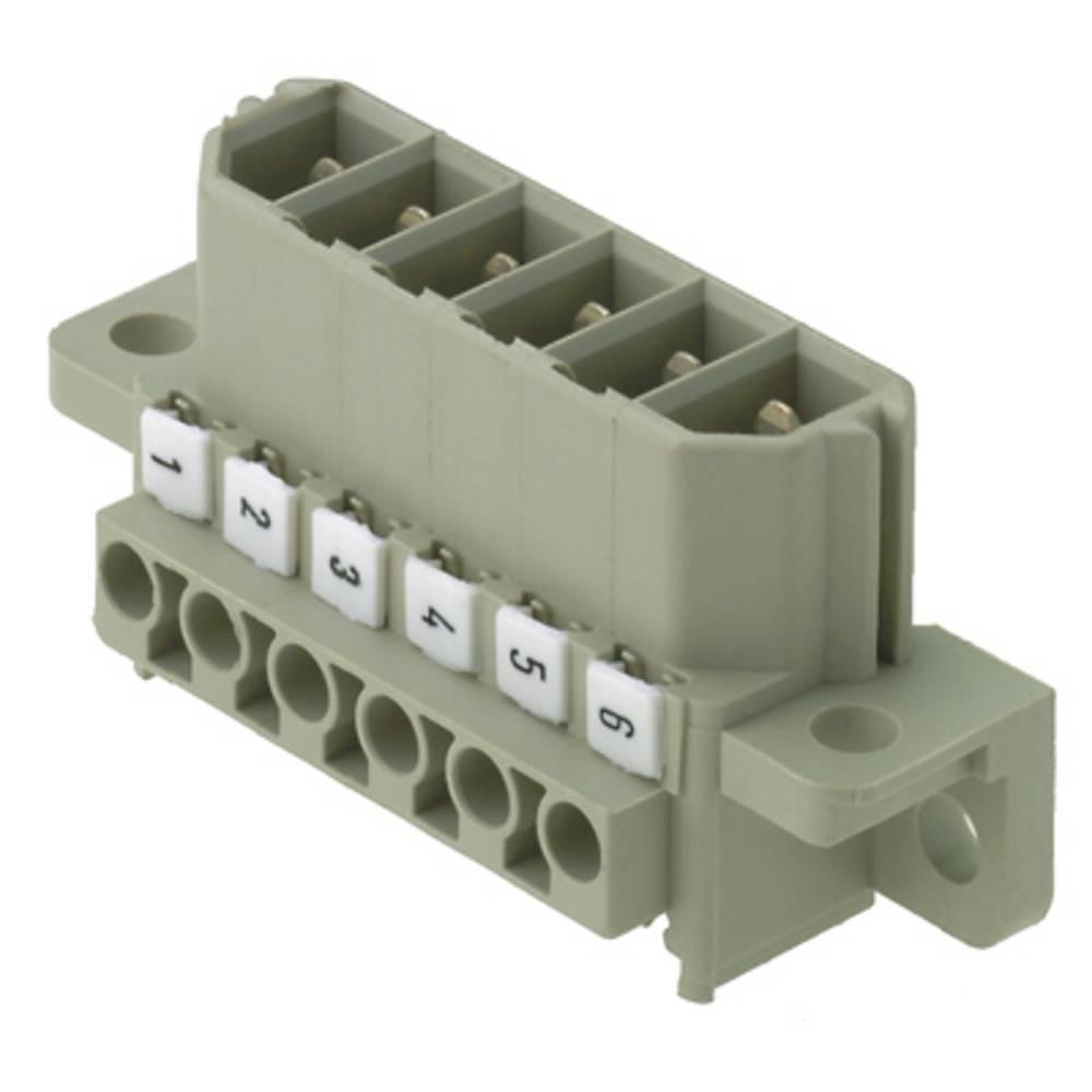 Tilslutningskabinet-kabel ST Samlet antal poler 3 Weidmüller 1612680000 Rastermål: 7 mm 10 stk
