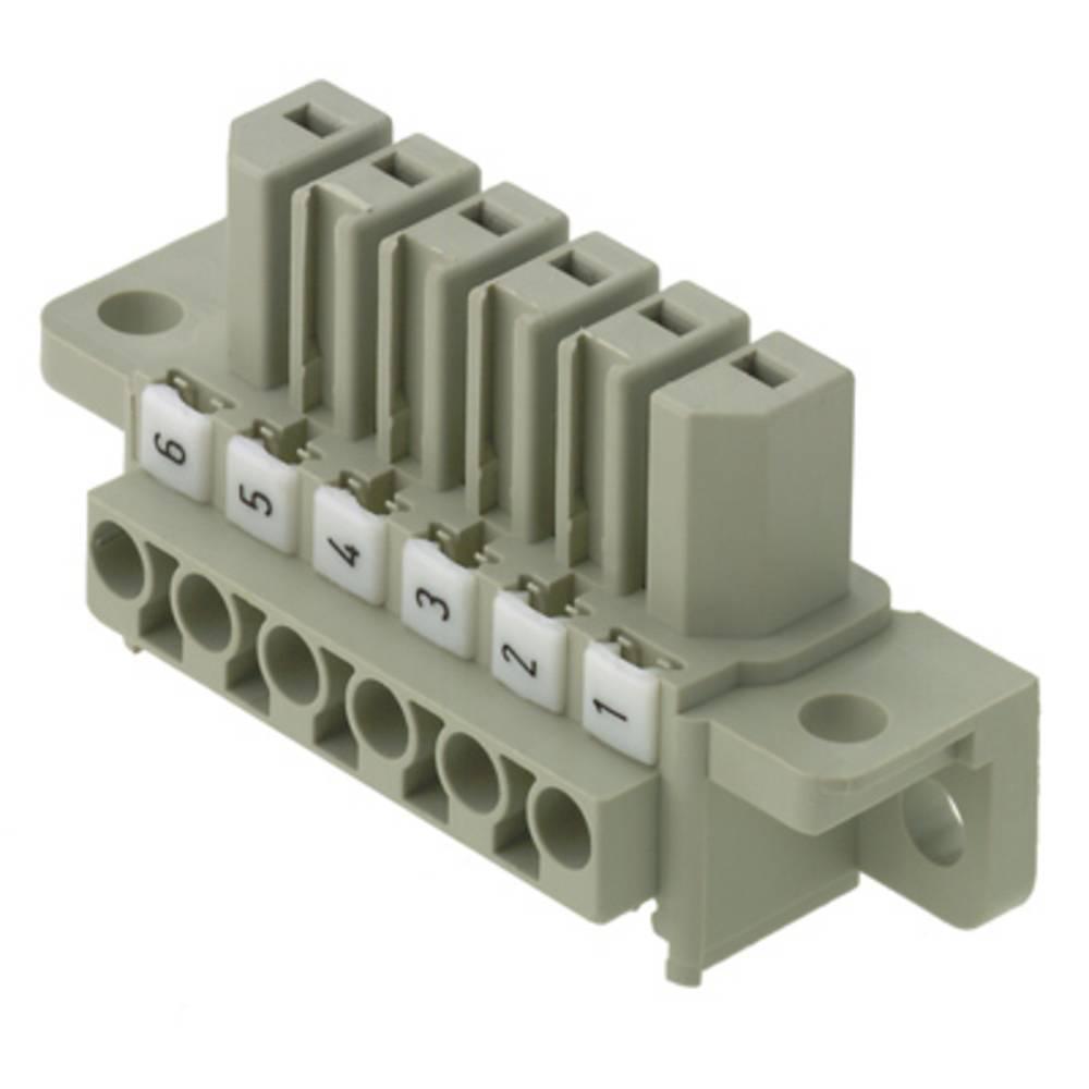 Vtični konektor za tiskana vezja, mere: 7.00 mm število polov:: 6 Weidmüller 1612750000 vsebuje: 10 kosov