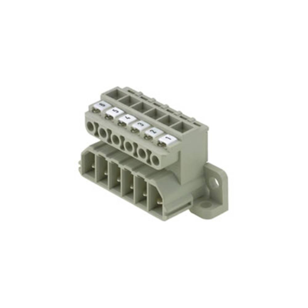 Vtični konektor za tiskana vezja Weidmüller 1612860000 vsebuje: 10 kosov