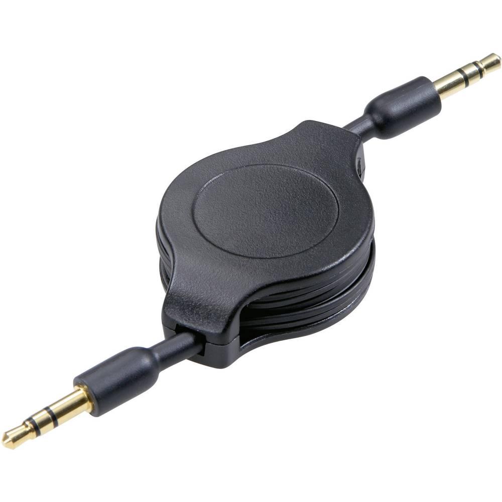 3,5 mm povezovalni kabel z banana vtičem SpeaKa Professional50286 Jack mâle 3,5 mm (stĂc